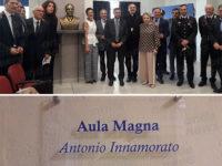 """Teggiano: intitolata al senatore Antonio Innamorato l'Aula Magna del """"Pomponio Leto"""""""