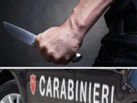 Litiga con la moglie e la minaccia con un coltello. Allontanamento da casa per un 60enne di Vibonati