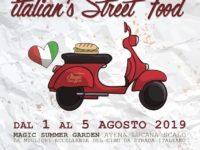 "Al via domani ""Italian's Street Food"" al Magic Hotel di Atena Lucana"