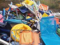 """Blitz anti ombrellone selvaggio sulla spiaggia di Agropoli. Il sindaco:""""Reprimiamo un'errata abitudine"""""""