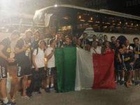 Le Autolinee Curcio di Polla accompagnano il volley maschile italiano alla vittoria delle Universiadi