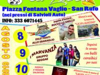 8 – 9 – 10 Agosto – Sagra del Fiore di Zucca – Fontana Vaglio, San Rufo