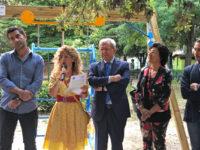 Donata a Potenza un'altalena per disabili dalla Banca Monte Pruno, Sinergie Lucane e INAIL