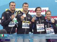 Domenico Acerenza di Sasso di Castalda regala all'Italia argento ai Mondiali di nuoto in Corea del Sud