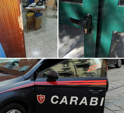 Giallo al Municipio di Camerota. Ignoti forzano il portone ed entrano negli uffici,rilevate due impronte