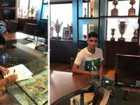 """Il calciatore di Caggiano Nico Valisena firma con la Sampdoria come """"giovane di serie"""""""