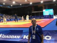Il Maestro Amendola della New Kodokan presente alle Universiadi come Training Coordinator di judo