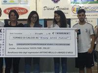 """Calcio a 5 e solidarietà. Una serata intensa a Sala Consilina con il Torneo benefico """"Enjoy With Futsal"""""""