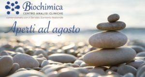 Il Centro Analisi Biochimica con sedi a Padula, Atena Lucana e Olevano sul Tusciano aperto ad agosto