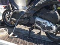Incidente in scooter sull'A2 tra Padula e Sala Consilina. Centauro ferito