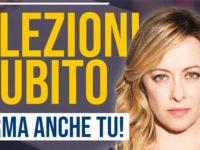 """""""Elezioni Subito"""". Fratelli d'Italia vuole andare al voto, domani la raccolta firme a Capaccio Paestum"""