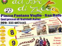 San Rufo: fervono i preparativi per la Sagra del fiore di zucca in programma dall'8 al 10 agosto