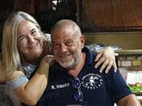 """Personaggi famosi nel Golfo di Policastro. La """"Iena"""" Giulio Golia in vacanza a Scario"""