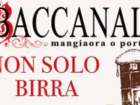 """Atena Lucana: dal 22 al 25 agosto l'evento """"Non solo birra"""" al Baccanale del Centro Commerciale Diano"""