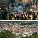 San Gregorio Magno: con l'idrante tra la folla reduce dalla sagra. Giovani colpiti dal getto d'acqua