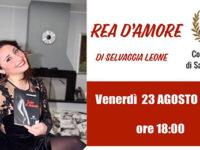 """Salvitelle: il 23 agosto presentazione del libro """"Rea d'amore"""" di Selvaggia Leone"""