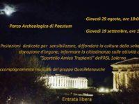 ASL Salerno. Domani tra i Templi di Paestum l'evento di sensibilizzazione alla donazione degli organi