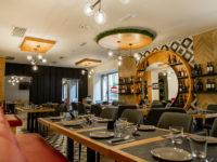 La verace cucina napoletana in un locale dall'atmosfera Pop Mediterranea grazie a Pama Arredamenti