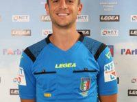 L'arbitro Ivan Robilotta della sezione AIA di Sala Consilina in Serie B per Pordenone-Spezia