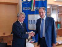 Regione Basilicata. Il Presidente Bardi riceve ambasciatore del Giappone Katakami