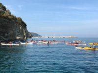Il 21 e 22 settembre raduno nazionale di canoa e kayak nel mare blu del Cilento