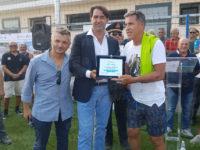 """Inaugurato a San Giovanni a Piro lo Stadio """"Cav. Paradiso"""" alla presenza del calciatore Antonio Careca"""