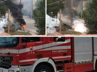Teggiano: esplode una cabina elettrica dell'Enel a Prato Perillo. Intervengono i Vigili del Fuoco