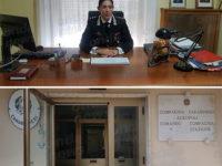 Carabinieri Agropoli, il nuovo Capitano della Compagnia Fabiola Garello si presenta alla stampa