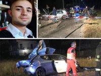 Tragico scontro tra auto a Teggiano. Perde la vita giovane di Sala Consilina