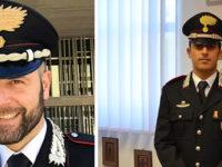 Compagnia Carabinieri Potenza. Il Maggiore Cascone si trasferisce e lascia il posto al Capitano Calabria