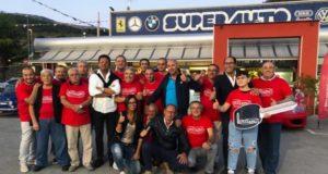 Atena Lucana: grande successo da Superauto per l'aperitivo tra appassionati di veicoli d'epoca