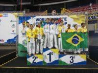 Mondiali di Karate in Brasile. Doppio oro per Tommaso Giuli, atleta originario di Sasso di Castalda