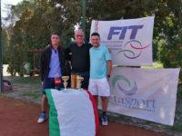 San Rufo:grande partecipazione al Torneo di Tennis Maschile Metasport. Il vincitore è Vincenzo Di Candia