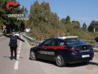 Controlli dei Carabinieri a Potenza. Denunce per guida con patente revocata e tasso alcolemico elevato