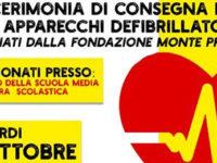 Il 18 ottobre la Fondazione Monte Pruno dona due defibrillatori alla scuola di Marsicovetere