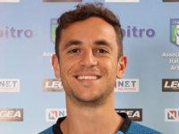 Ivan Robilotta, arbitro della Sezione di Sala Consilina, IV ufficiale in serie A con Lazio-Bologna