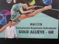 Vincenza Marmo di Danza&Ginnastica Kodokan si qualifica al Campionato Individuale di Ginnastica Ritmica