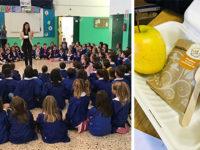 L'Amministrazione di Montesano dona una sana merenda ai bambini delle Elementari per l'Obesity Day