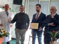 """La Banca Monte Pruno dona 5 televisori all'ospedale di Polla. """"Daremo sempre il nostro contributo"""""""