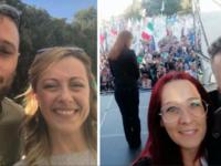 Folla per i leader di centrodestra a Roma. Presenti il sindaco di Roscigno e la Lega Vallo di Diano