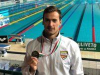 L'atleta di Sasso di Castalda, Domenico Acerenza, convocato per gli Europei di nuoto in Scozia