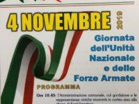 A Teggiano il 4 novembre un corteo celebra la Giornata dell'Unità Nazionale e delle Forze Armate