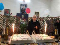 Vietri di Potenza festeggia i 90 anni di don Francesco Parrella,per quasi 60 anni parroco della comunità