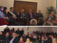 """Il Ministro per il Sud Provenzano in visita a Palomonte. """"L'unica salvezza del Meridione è la scuola"""""""
