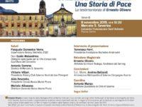 Ernesto Olivero l'8 novembre a Mercato San Severino. L'incontro promosso dalla Banca Monte Pruno