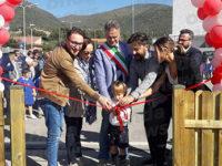 """Sala Consilina: inaugurato """"Dino Park"""", il parco giochi pubblico realizzato con il sostegno della DFL"""