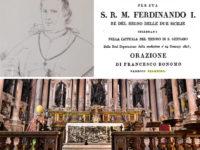 Fu confessore del Re Ferdinando I di Borbone. La storia di Giovan Francesco Bonomo di Sanza