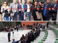 """Inaugurato a Sassano l'anfiteatro """"Terra mia"""". Pellegrino:""""Dare slancio al centro storico"""""""