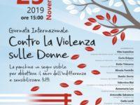 Il 25 novembre a San Gregorio Magno inaugurazione di una panchina rossa contro la violenza sulle donne