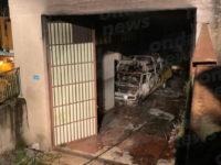 Attimi di paura a Picerno. Scuolabus prende fuoco in un garage del Comune